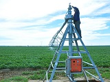 What are the advantages of Center- pivot Irrigation Machines?